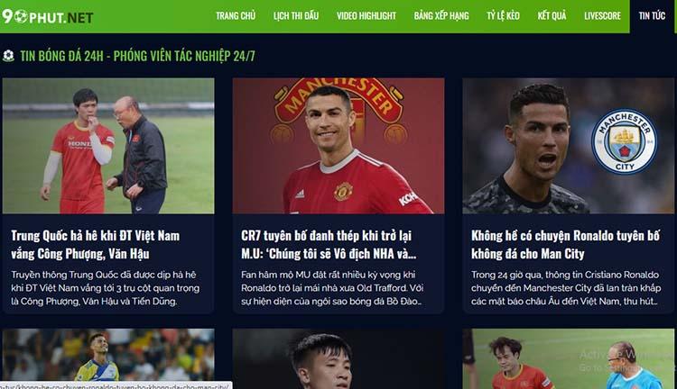 xem tin tức bóng đá tại 90phut.net